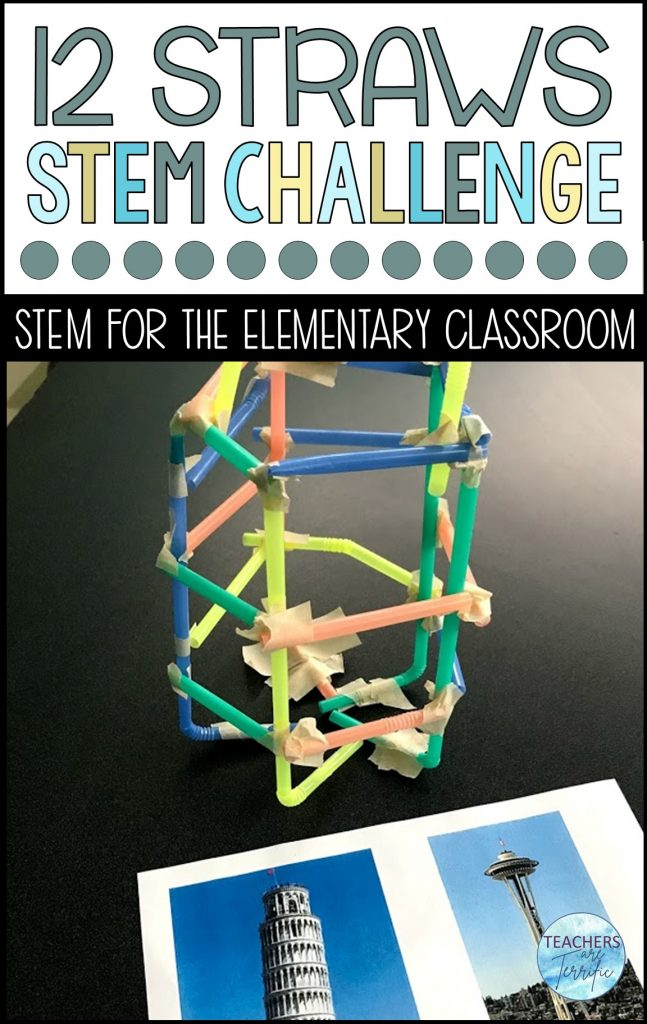 If you have limited supplies, can you still build a tower?  Yes you can!  This is a must have STEM challenge!  Students have to build a very tall tower with only two materials.  This resource also includes a bonus challenge!