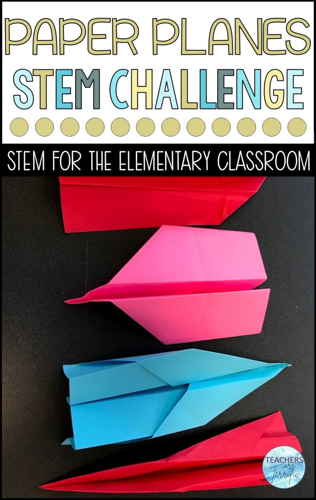 If you are ready for a highly interesting STEM project, this Airplane Challenge is for you!  They know children love to throw paper planes.  Use this energy with this STEM activity!  This is a must have STEM challenge!