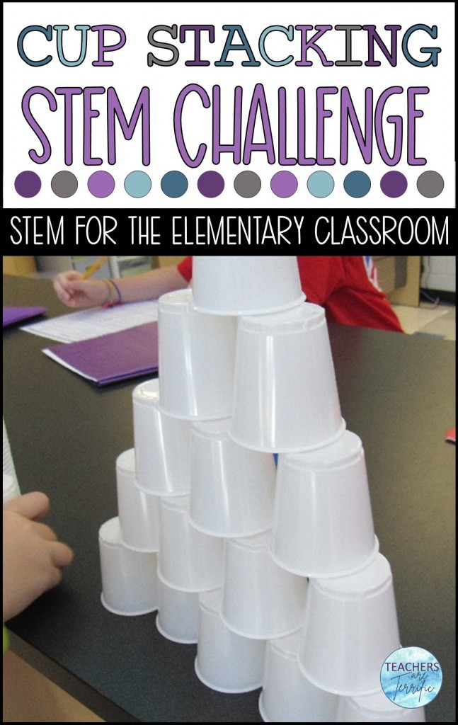 Here is a perfect way to practice some math skills. Students stack cups and use data collected to find the mean, median, mode, and range.