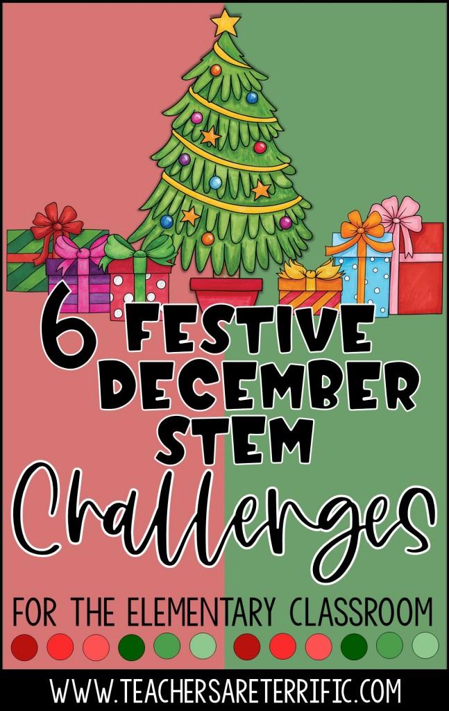 Festive Christmas Stem Challenges For Each Grade Teachers Are Terrific