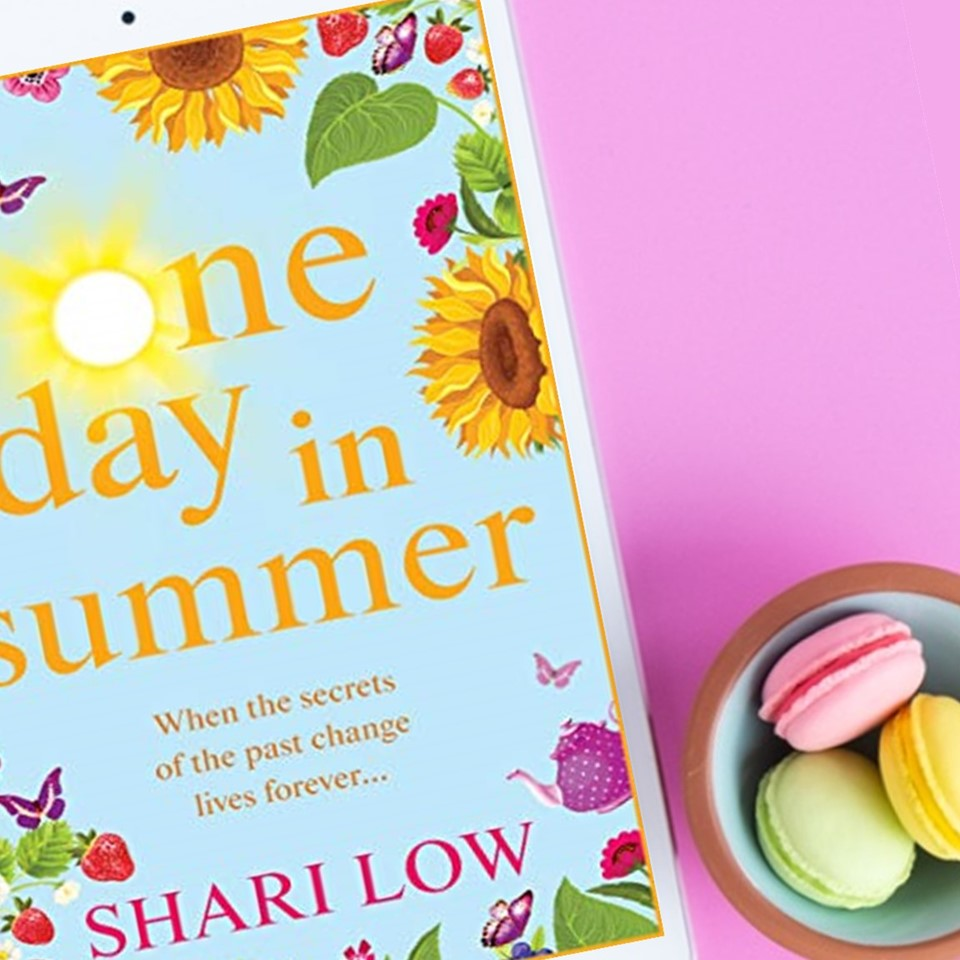 One Day in Summer by Shari Low- a romantic, yet funny book about Aggs and her twin daughters, her ex-husband and the best friend that caused her divorce.