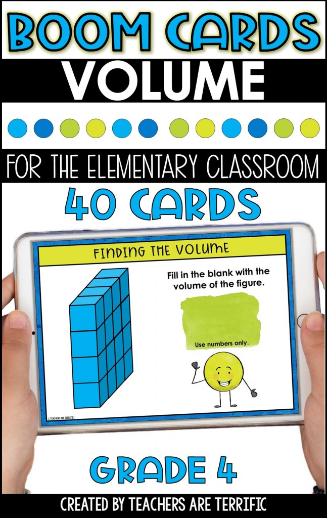 BOOM Task Cards are a perfect interactive practice with immediate feedback. This set features finding the volume of shapes.
