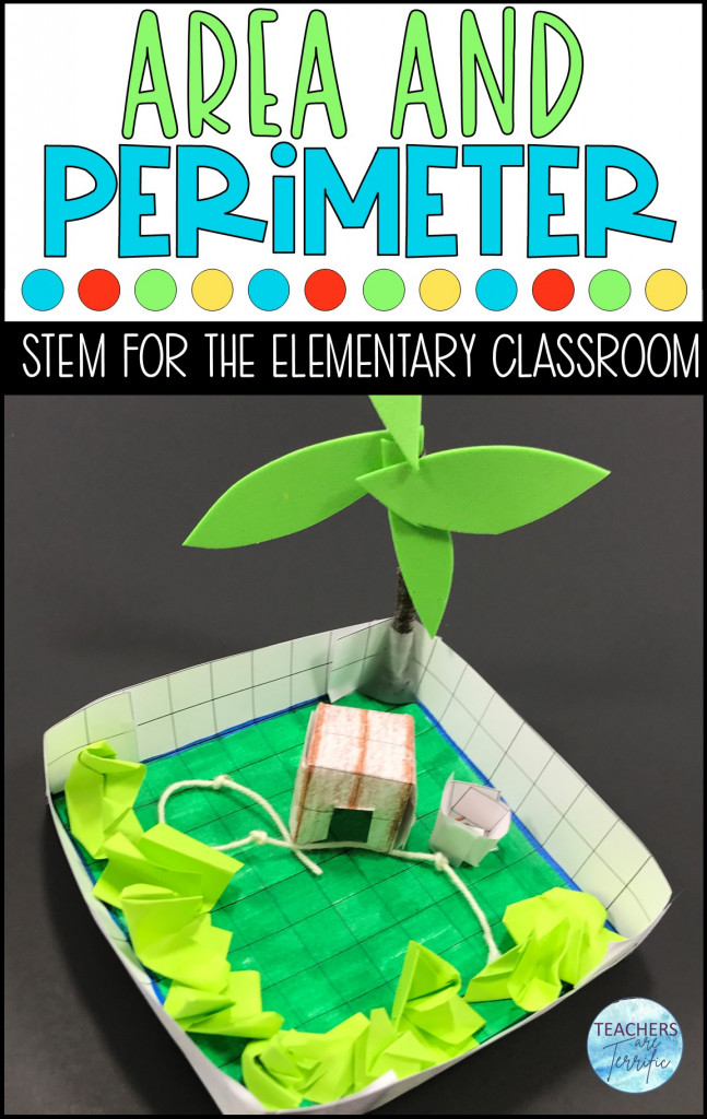 Math and STEM - If you need a fabulous resource for practicing math skills and combining a STEM Challenge here you go! This one is all about perimeter and area and using those measures to create! Students will design a paper dog run!