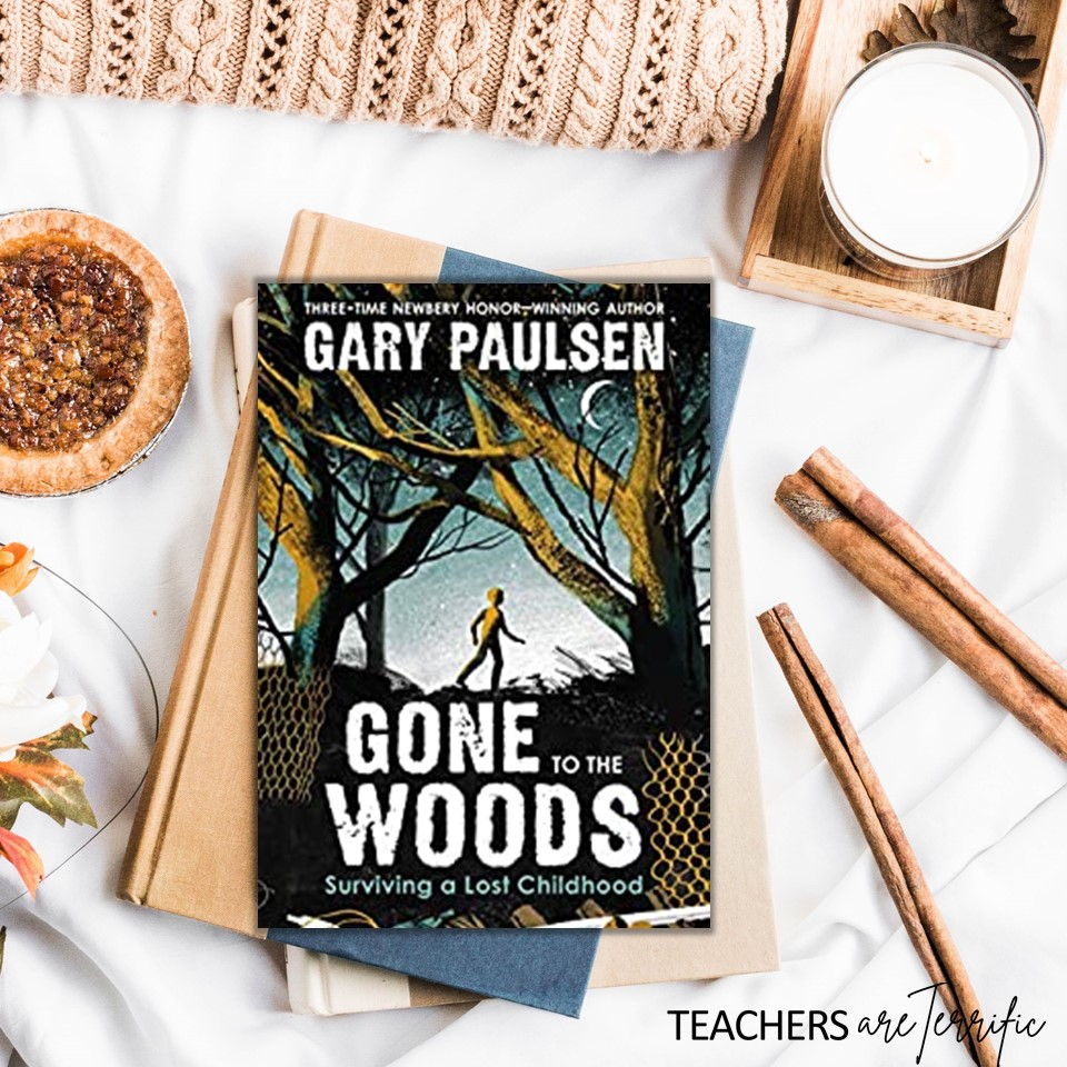 Gone to the Woods by Gary Paulsen- an autobiographical account of this amazing author's early childhood. Haunting and sad, but ultimately triumphant as he became a write so many young people love.