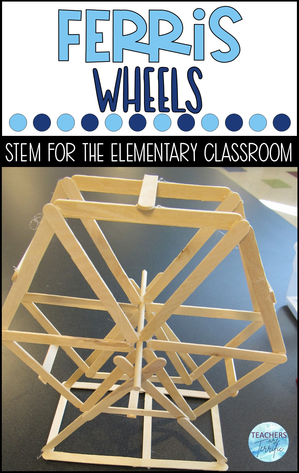 Are you ready for a Ferris Wheel STEM challenge? Here's the second challenge of a summer fun series to get ready for back to school time. Kids love this challenge no matter what time of year it is!