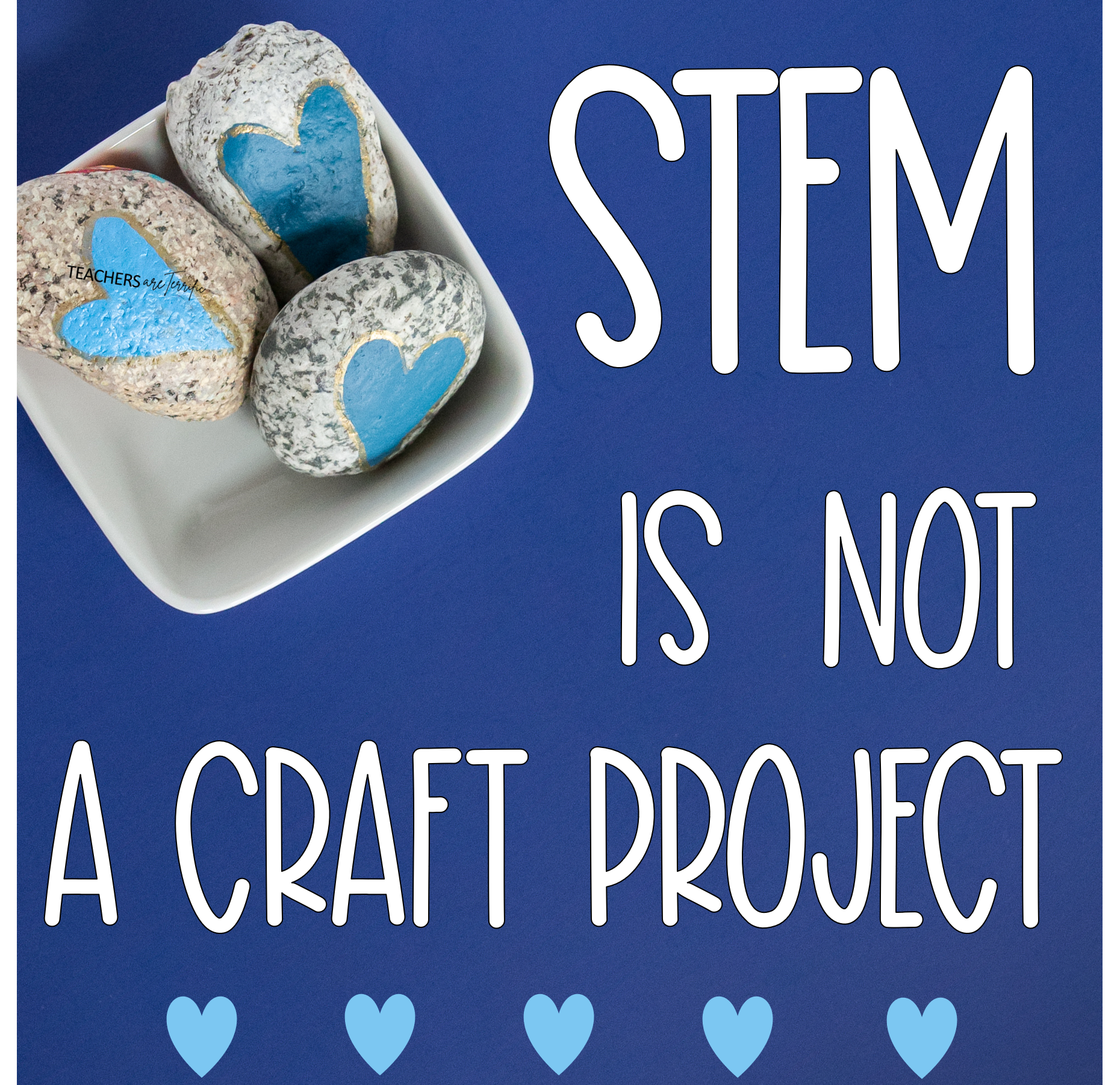STEM projects are not directed crafts. Students do not have directions, other than the goal, and design their own way of reaching the goal.